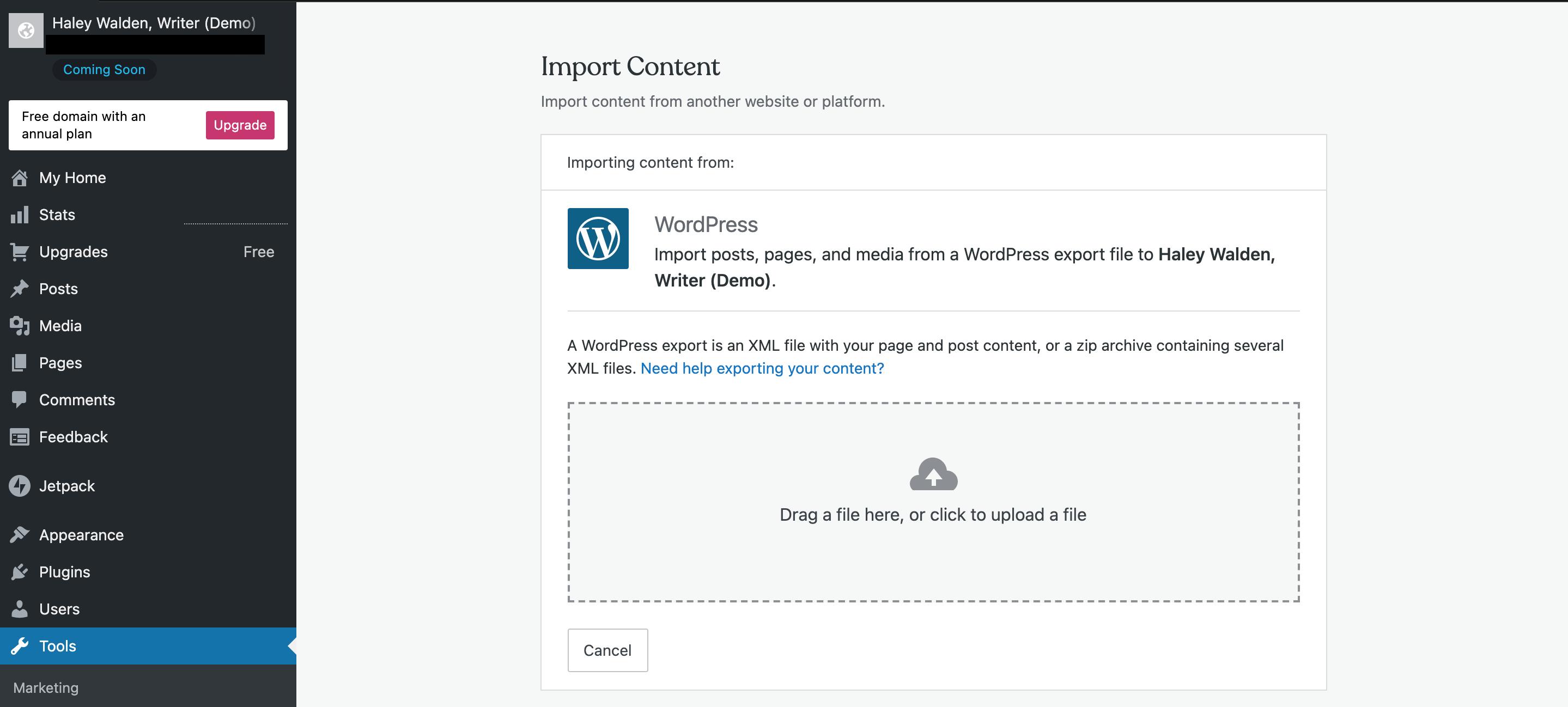 et-wordpressimport-wordpress