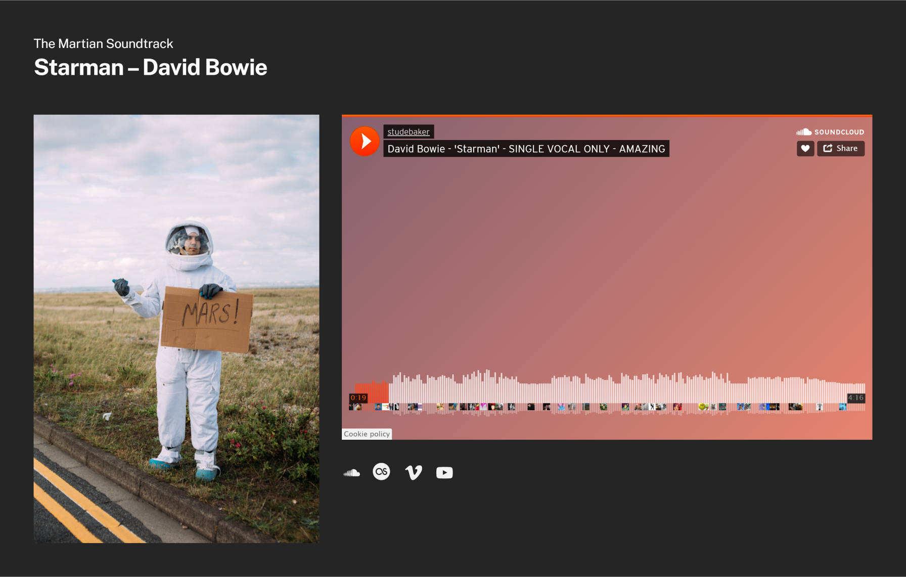 soundcloud音频播放区块模式
