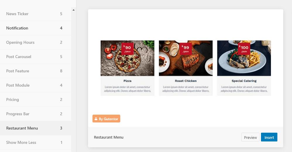 restaurant-menu餐厅菜单模板