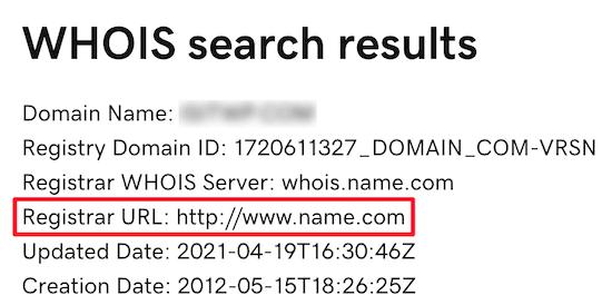 Contact-domain-name-registrar