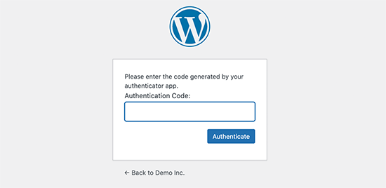 addauthenticationcode