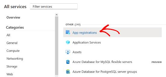 select-app-registrations