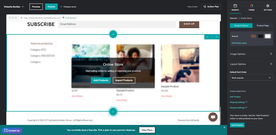 WordPress与GoDaddy网站搭建工具对比:应该如何选择-11