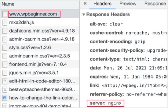 如何在WordPress中添加缓存文件过期标头-5
