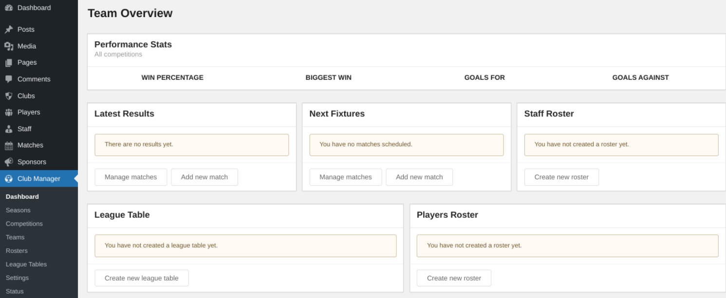 wp-club-manager-settings