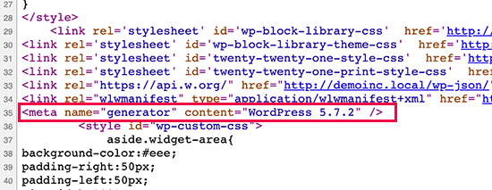wp-version-default
