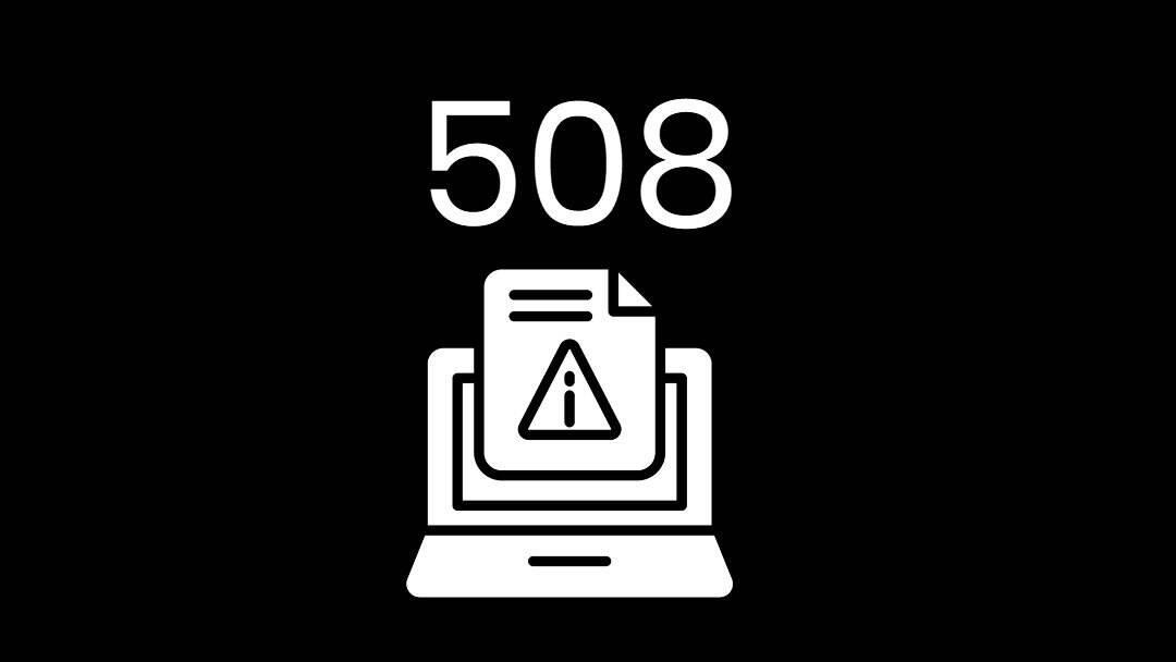 HTTP错误码508解决办法