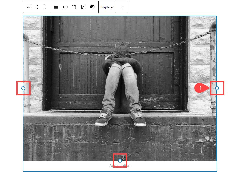 古腾堡编辑器教程:如何调整WordPress区块大小-4