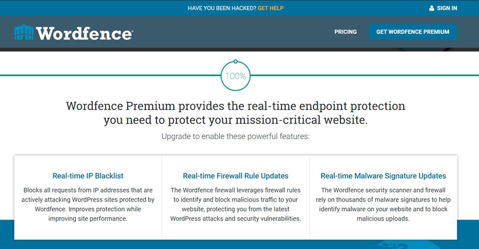 WordFence高级安全功能