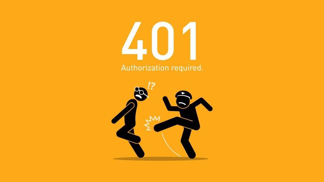 修复401错误