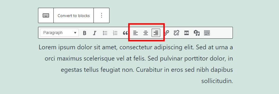古腾堡编辑器教程:如何使用WordPress经典区块-17