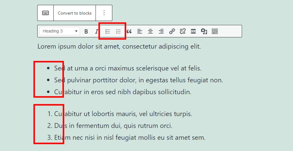 古腾堡编辑器教程:如何使用WordPress经典区块-15