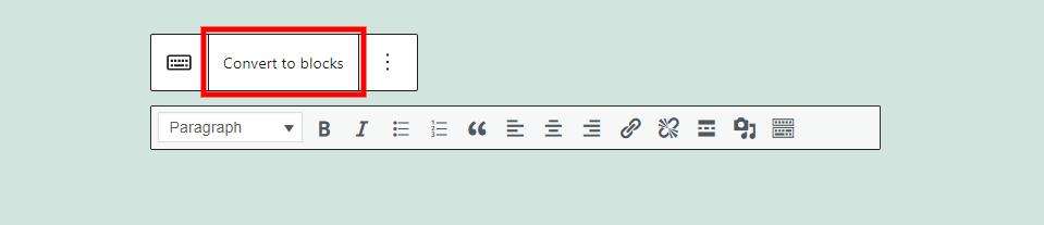 古腾堡编辑器教程:如何使用WordPress经典区块-10