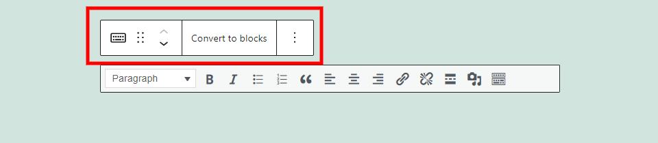 古腾堡编辑器教程:如何使用WordPress经典区块-6
