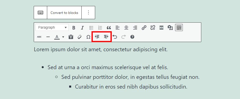 古腾堡编辑器教程:如何使用WordPress经典区块-28