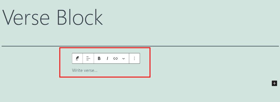 古腾堡编辑器教程:如何使用WordPress诗篇区块-3