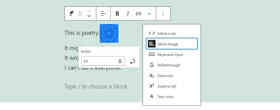 古腾堡编辑器教程:如何使用WordPress诗篇区块-15