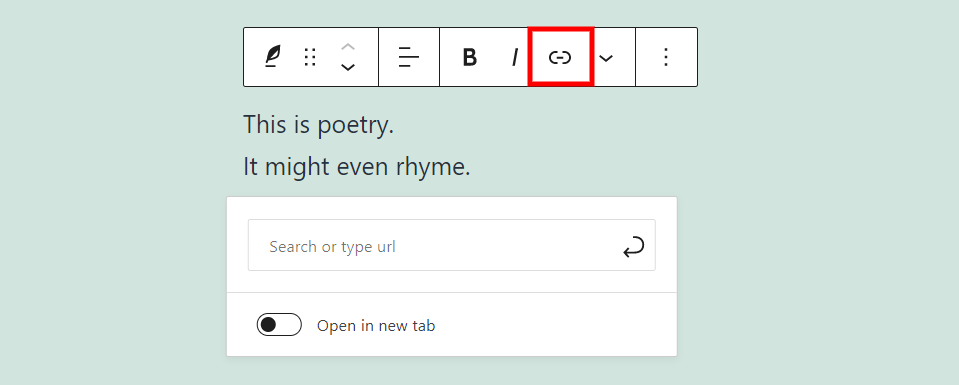 古腾堡编辑器教程:如何使用WordPress诗篇区块-12