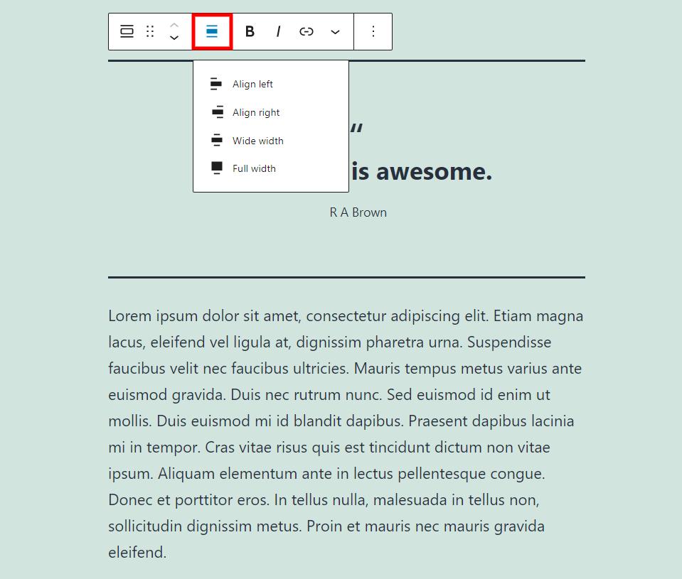 古腾堡编辑器教程:如何使用WordPress引文区块-1