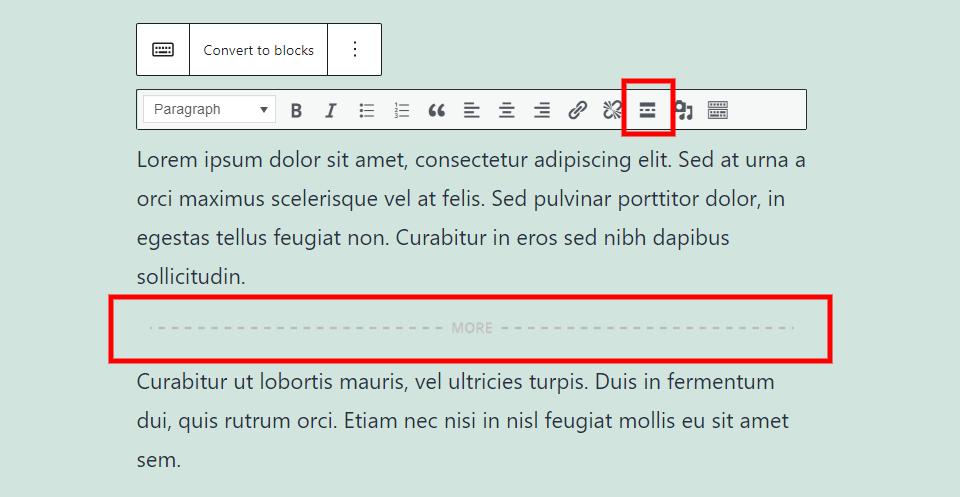 古腾堡编辑器教程:如何使用WordPress经典区块-19