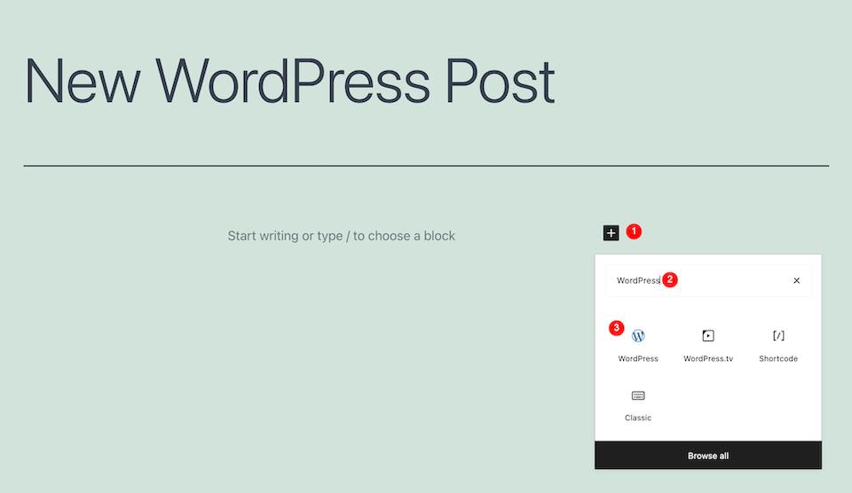 古腾堡编辑器教程:如何使用WordPress嵌入区块-2