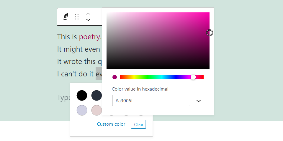 古腾堡编辑器教程:如何使用WordPress诗篇区块-22