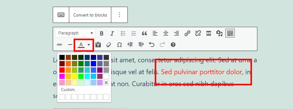古腾堡编辑器教程:如何使用WordPress经典区块-24
