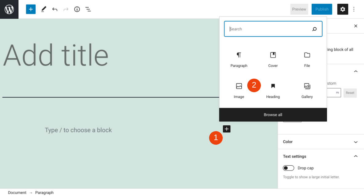 古腾堡编辑器教程:如何使用WordPress图片区块-2