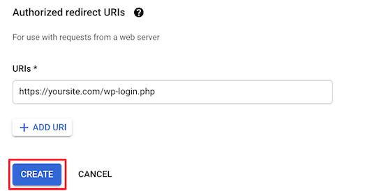 设置登陆URL重定向
