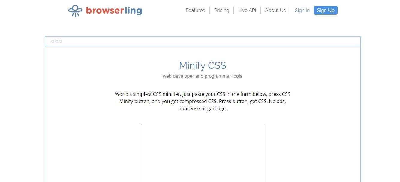 27个免费在线CSS文件极简化工具-10
