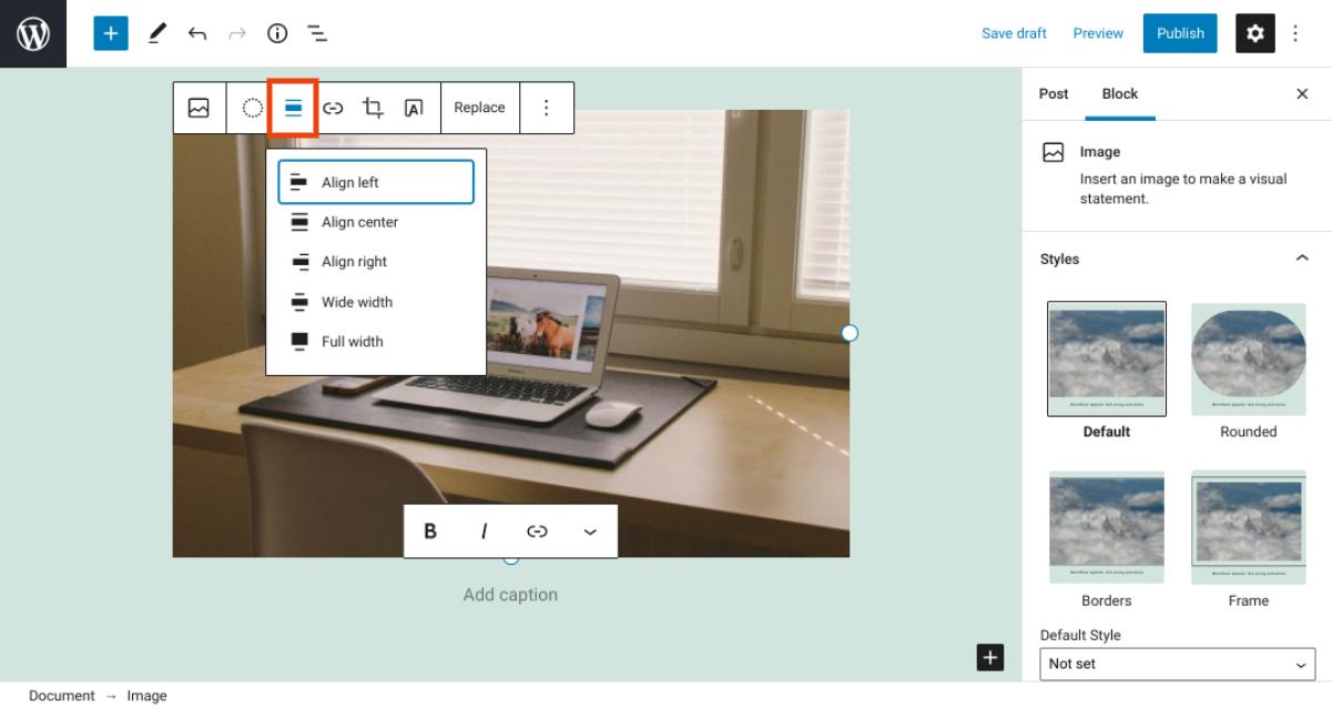 古腾堡编辑器教程:如何使用WordPress图片区块-6