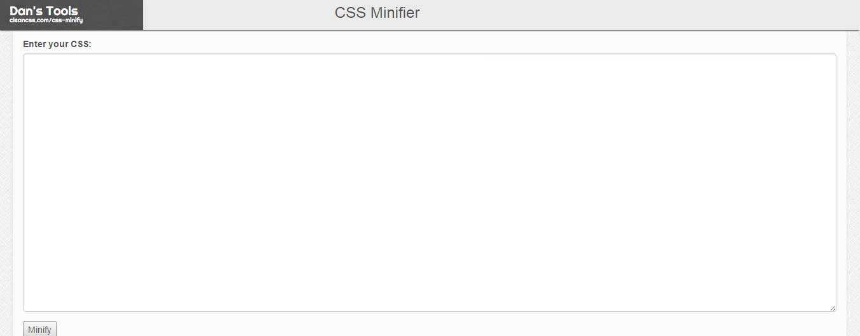27个免费在线CSS文件极简化工具-4