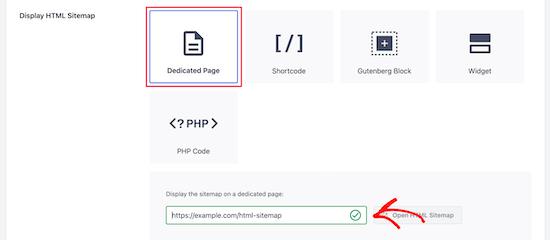 HTML站点地图URL地址