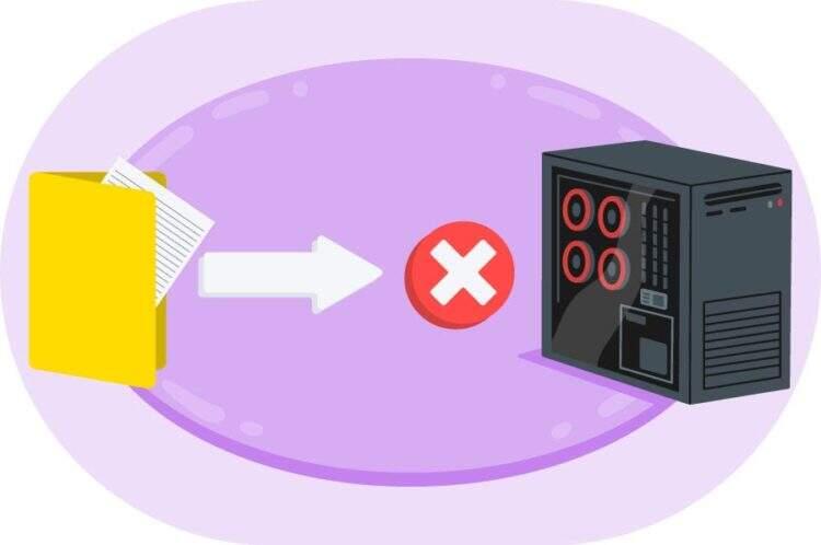 上传:无法将文件写入磁盘错误修复