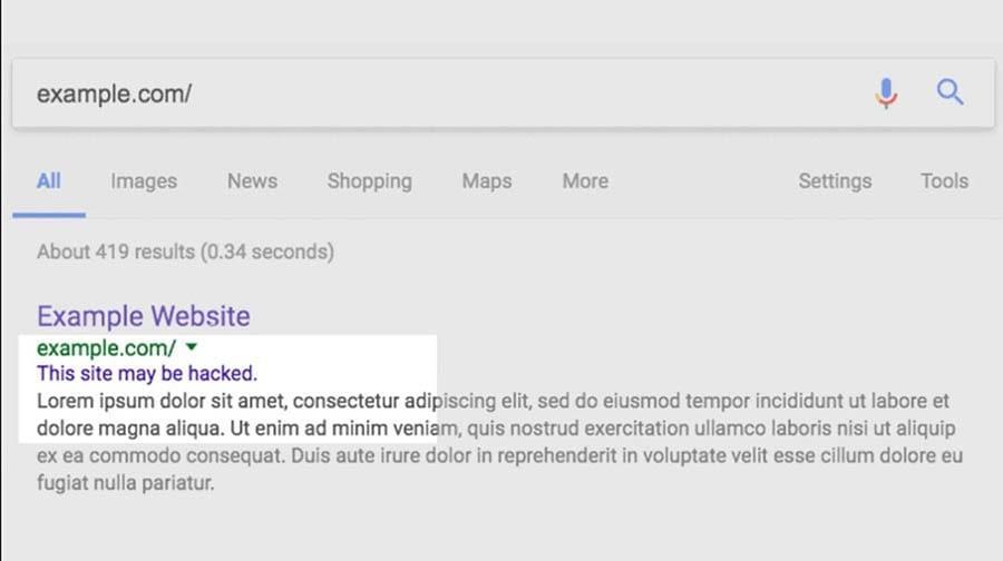 """如何修复WordPress网站""""您要访问的网站包含恶意软件""""警告-4"""