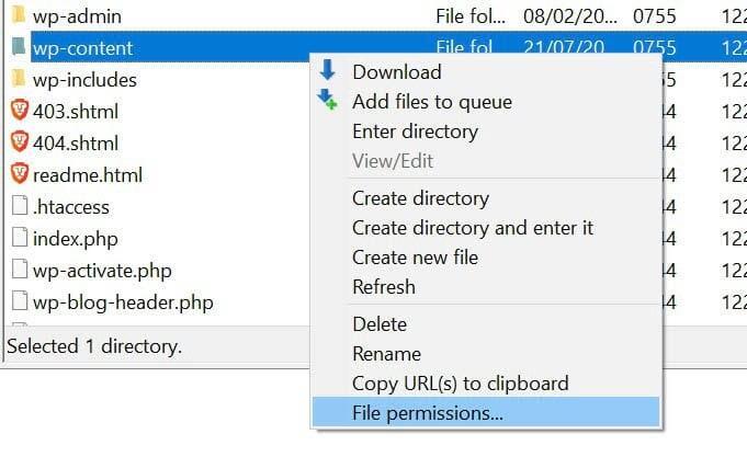 修改文件及文件目录权限