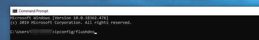刷新DNS
