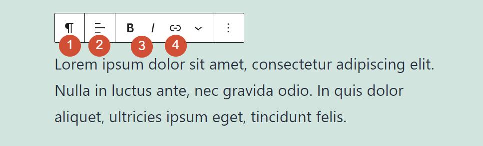 古腾堡编辑器教程:如何使用WordPress段落区块-4