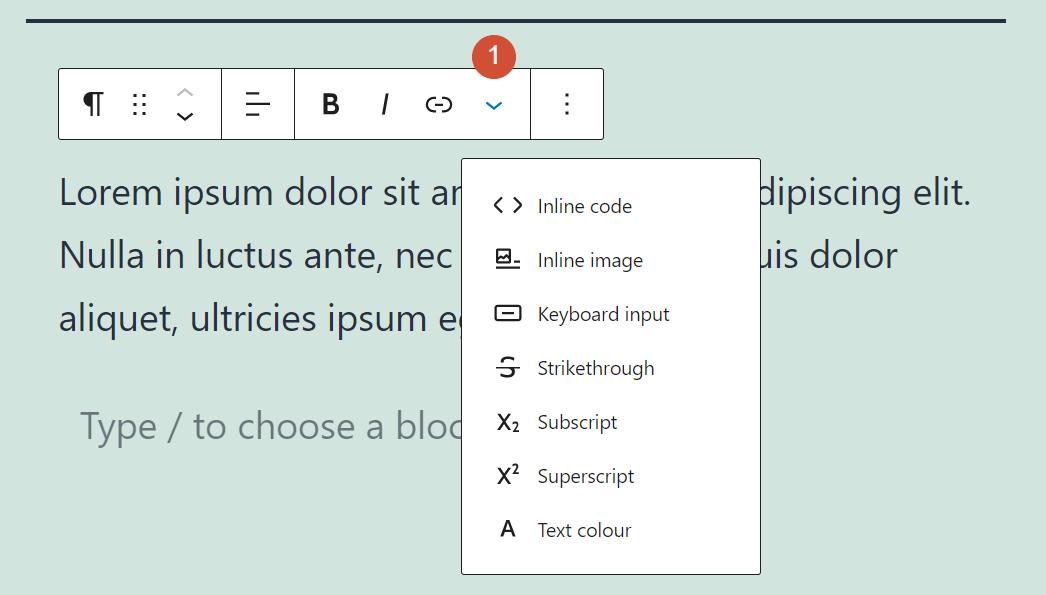 古腾堡编辑器教程:如何使用WordPress段落区块-5