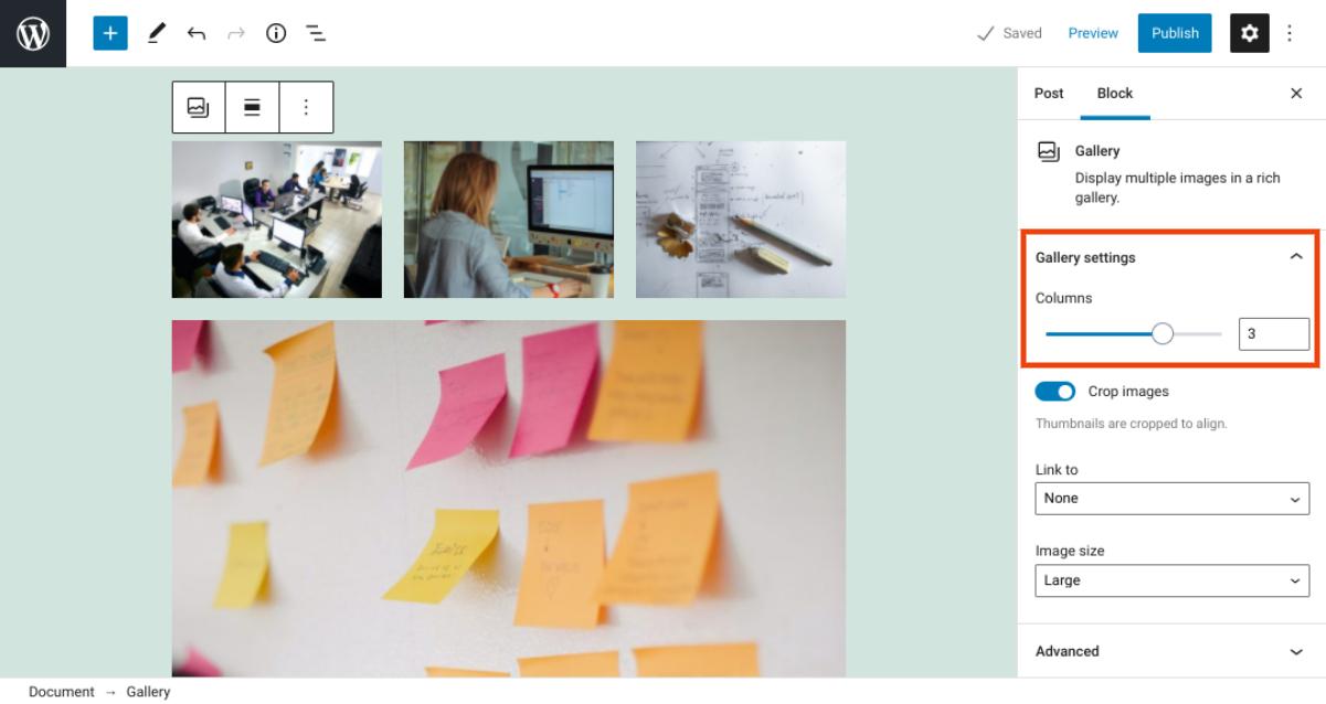 古腾堡编辑器教程:如何使用WordPress画廊区块-6