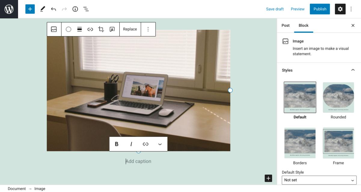 古腾堡编辑器教程:如何使用WordPress图片区块-4