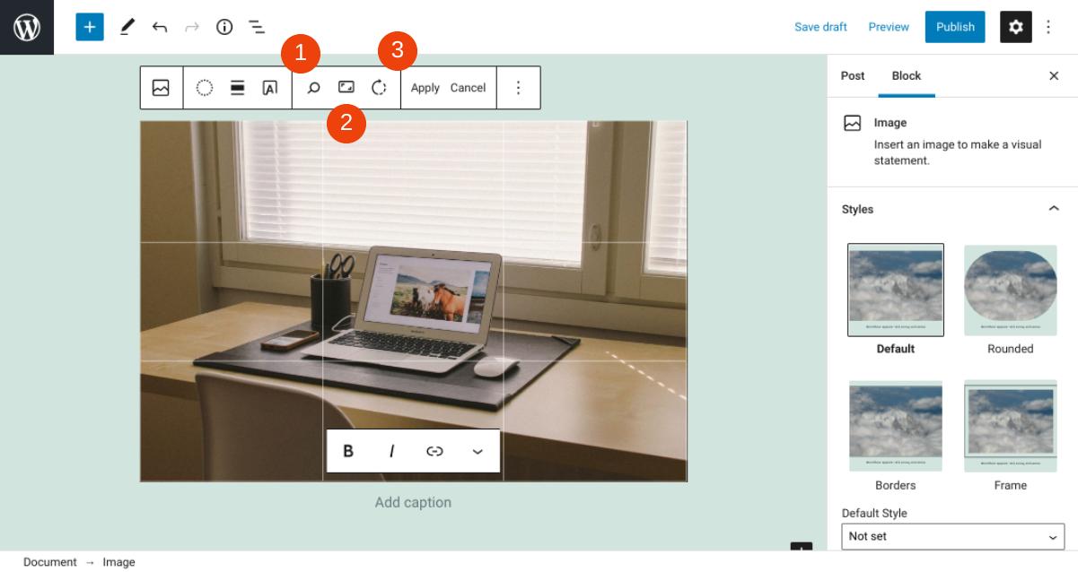古腾堡编辑器教程:如何使用WordPress图片区块-8