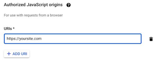 设置API请求域名