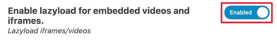 延迟加载嵌入式视频和 iframe