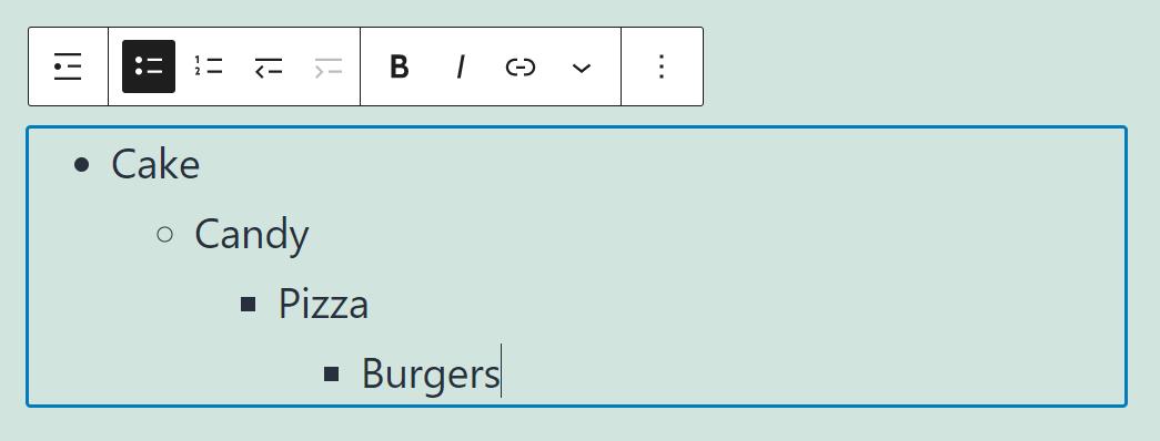 古腾堡编辑器教程:如何使用WordPress列表区块-3