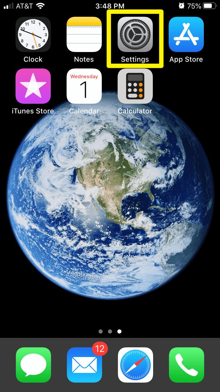 iOS设置