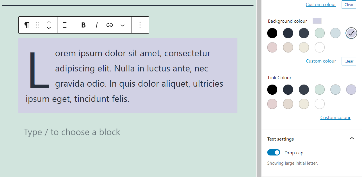 古腾堡编辑器教程:如何使用WordPress段落区块-7