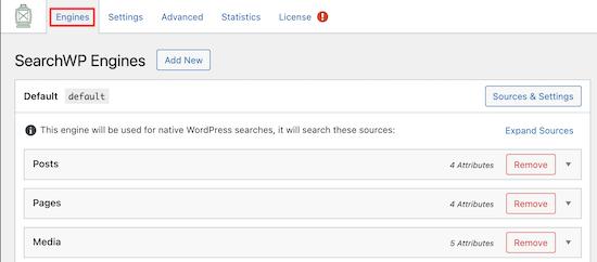 SearchWP引擎