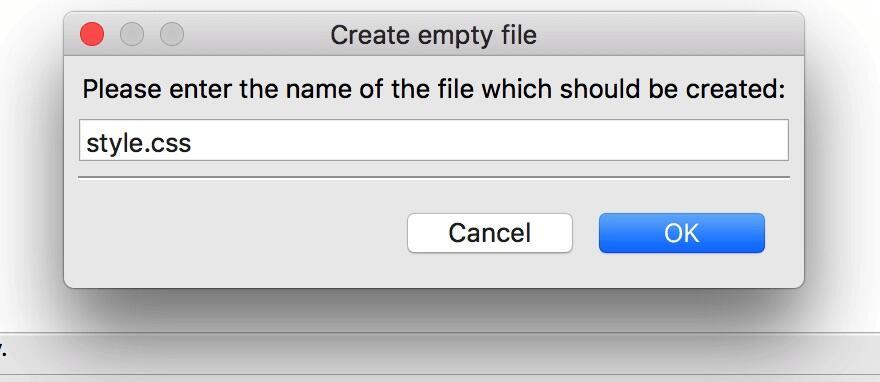 创建子主题CSS样式文件