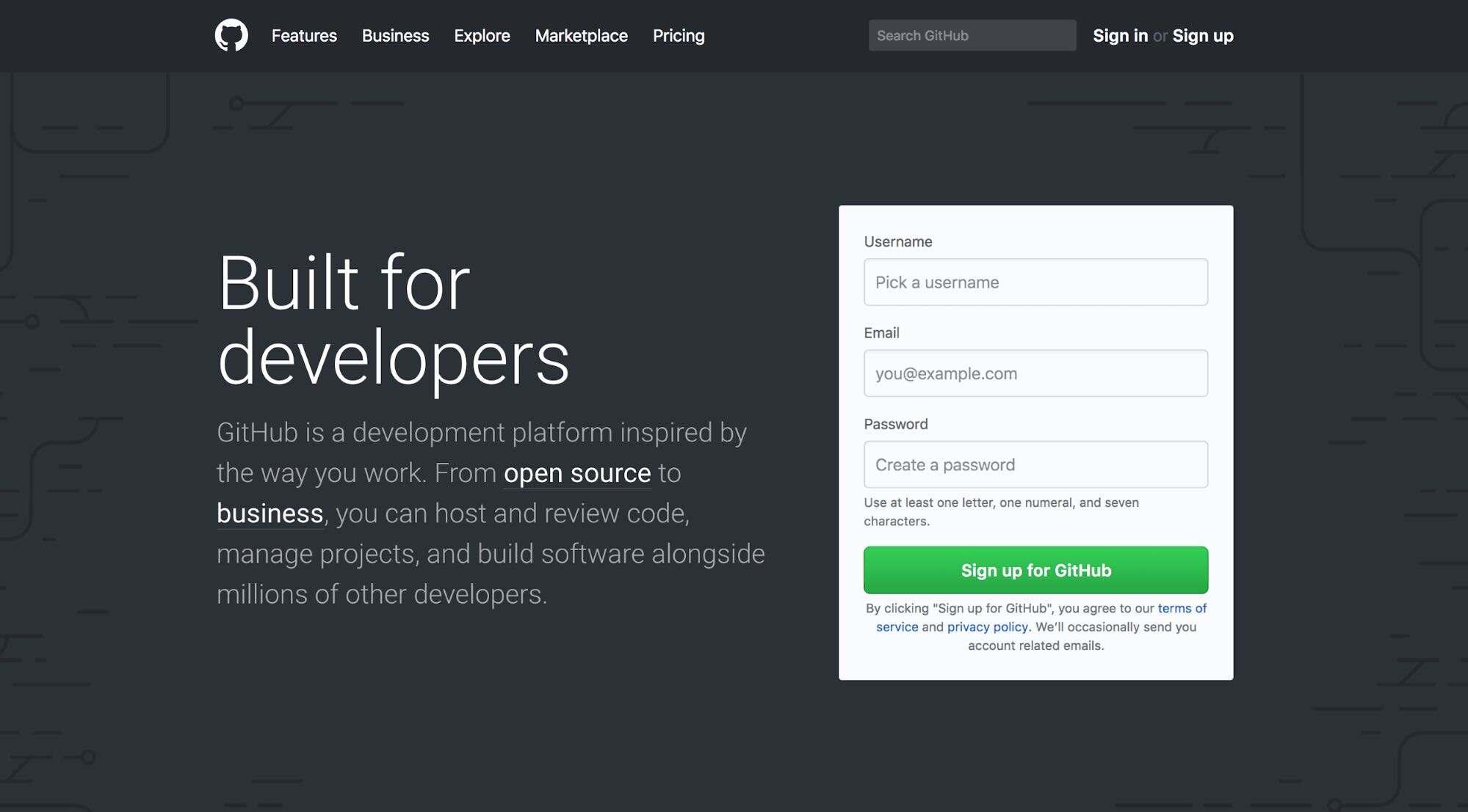 GitHub账号注册